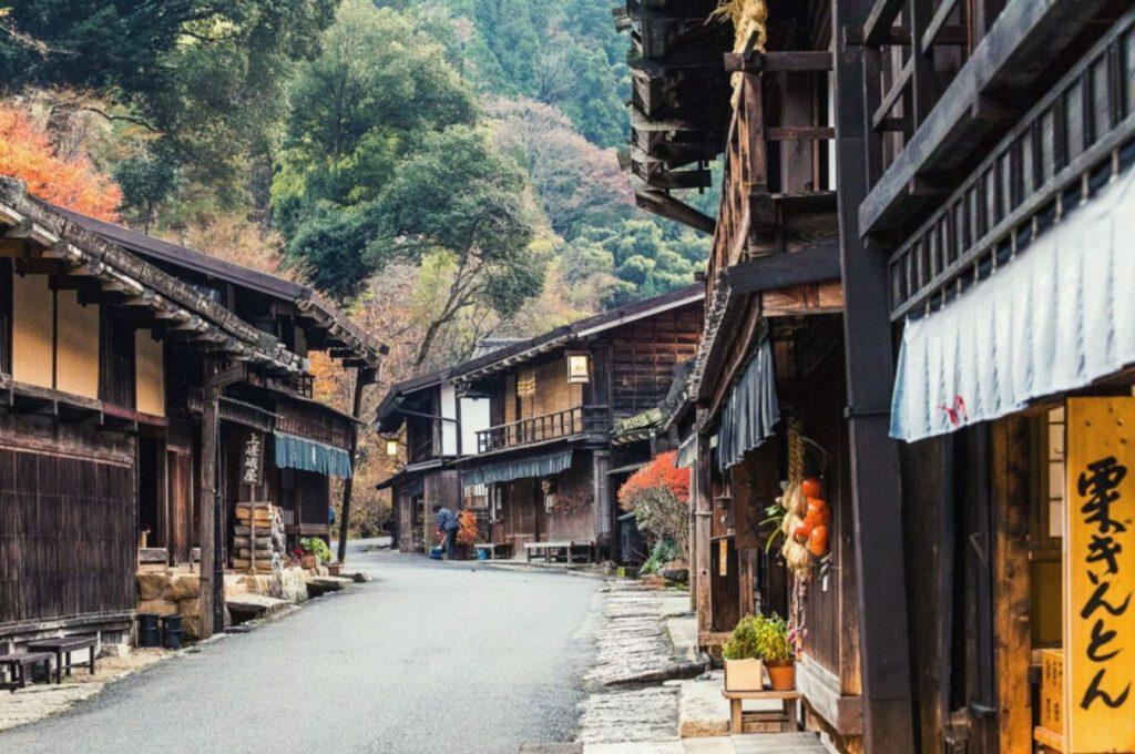 tour giappone samurai MTJ nakasendo